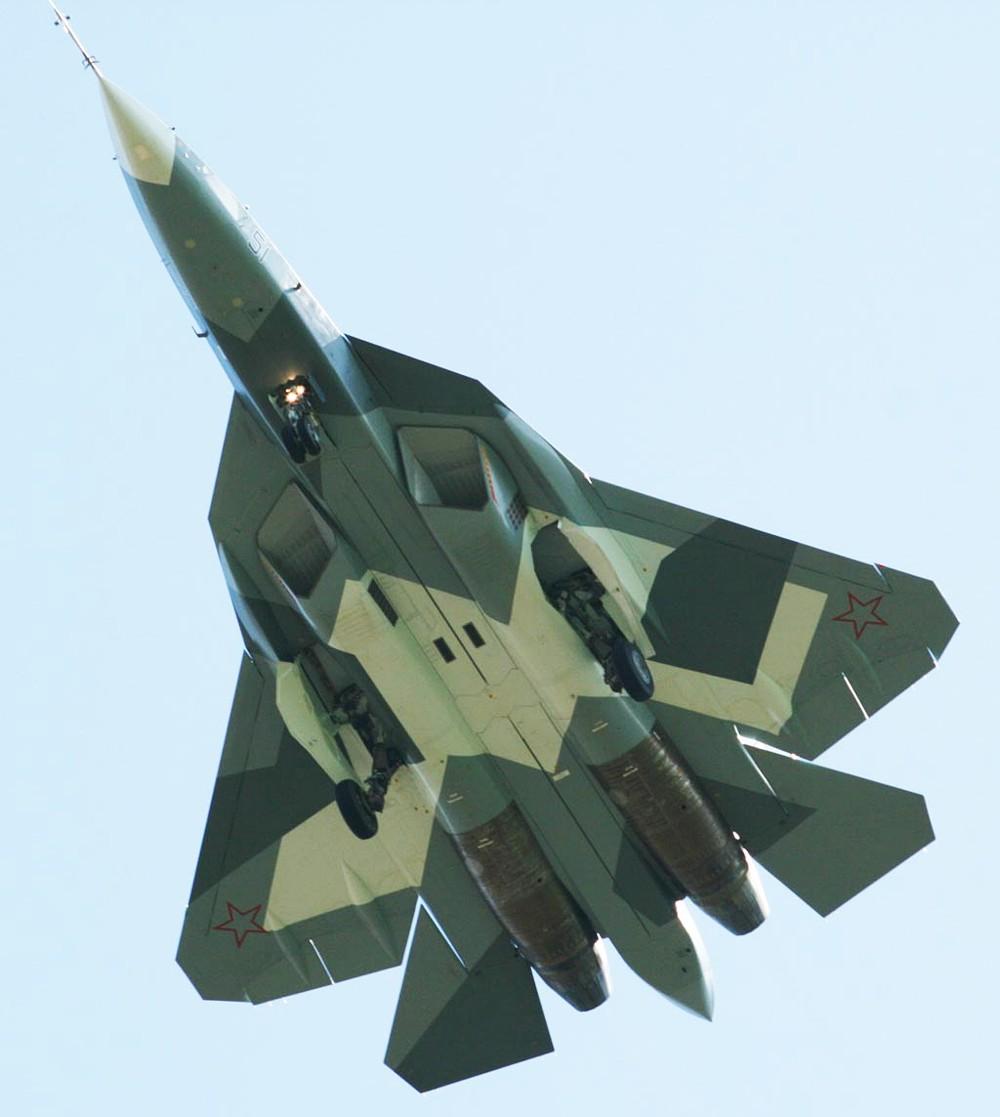 Russian 5th Gen PAK FA T 50 Fighter Makes First